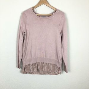 Gorgeous Nordstrom Joseph A. Layered Pullover Top